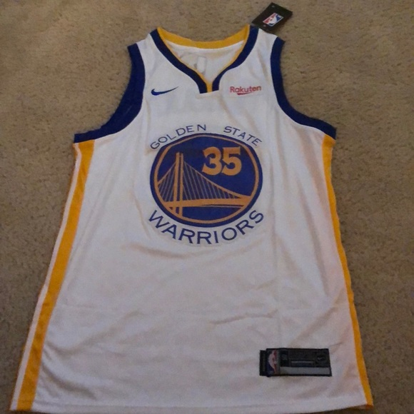 sports shoes 3e6a8 9a511 Kevin Durant Nike Golden State Warriors Jersey NWT